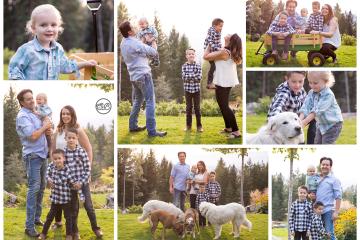 Beautiful Family on Ellison Property