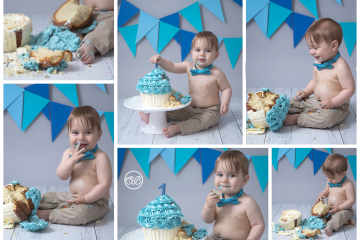 Celebrate Turning 1! {Cake Smash Cutie}