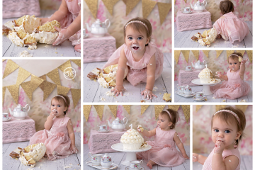 Adorable Tea Party Cake Smash