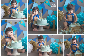 Birthday Babe {In Home Cake Smash Session}