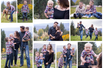 Beautiful At Home Fall Family Session {Ellison, BC}