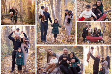 Family of Five in Beautiful Kelowna Forest {Autumn Session}