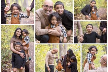 Milestone Fall Family Photo Session {Celebrate Turning 1!}