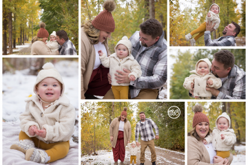 Fall Family Session {Milestone Photographer}