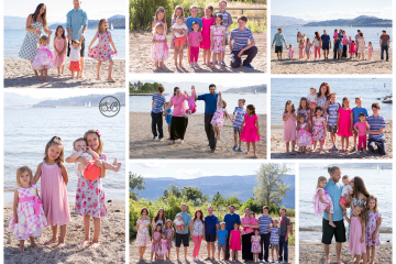Large Family Reunion on Kelowna's Beautiful Okanagan Lake