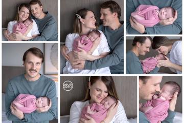 In Home Family Newborn Session {Wilden Kelowna}