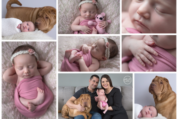 Beautiful Baby Girl Welcomed With Love {In Home Session - Vernon BC}
