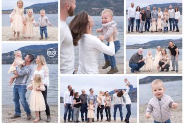 Beautiful Family on the Beach {Okanagan Lake}