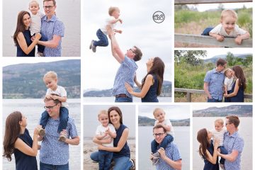 Beautiful Kelowna Family Play on Okanagan Lake Beach {Summer 2019}