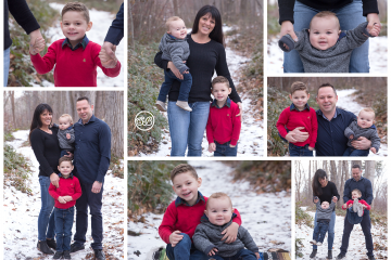 Fun Snowy Outdoor Family Session {Mission Creek Park Kelowna}