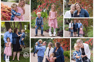 Generation Family Session {Autumn Colors in Kelowna Garden}