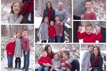 Snowy Fun December Family Session