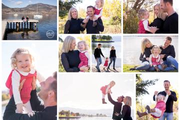 Beautiful Lake Okanagan Family Session