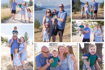 Beautiful Summer Day {Knox Mountain Family Session}