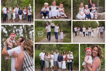 Family Session Smiles at Mission Creek Park Kelowna
