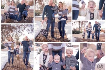 Family Fun in Snowy Kelowna Park