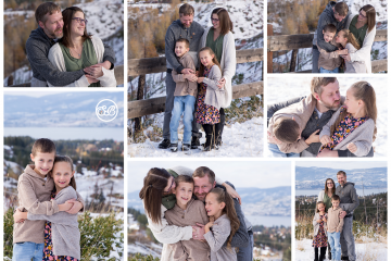 Family Winter Session {Beautiful Okanagan View}