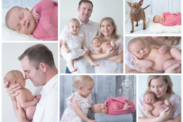 Sweet Family in SBP Kelowna Studio {Welcome Baby Girl}