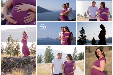Beautiful Sunshine Filled Knox Mountain Maternity Session