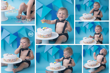 Cake Smash STAR! {Milestone Photography}