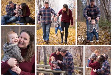 Autumn Family Session {Milestone Photographer}