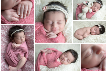 Beautiful In-Home Newborn Session {Welcome Baby Girl}