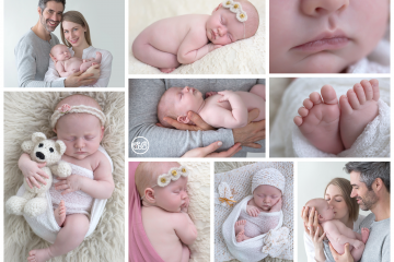Darling Studio Session {Family & Newborn}