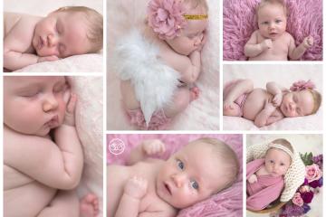 Beautiful Baby Girl in SBP Studio