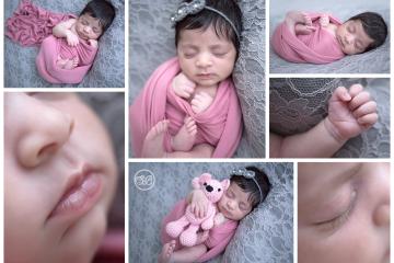 Beautiful Baby Girl in Kelowna Studio {Newborn Posing & Details}