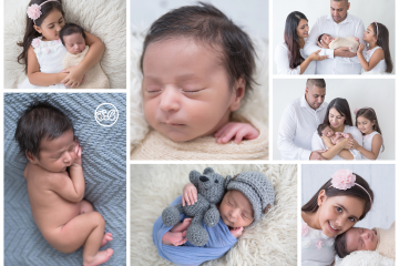 Newborn Boy Family Session in New SBP Studio