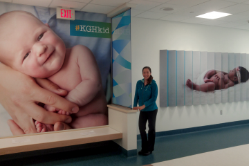 KGH Kelowna General Hospital Perinatal Unit Installation
