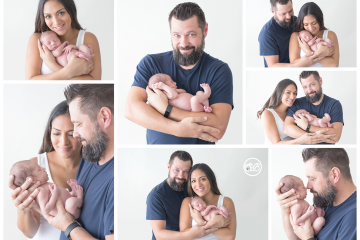 Beautiful Family Welcomes Baby Girl {SBP Kelowna Studio Session}