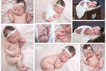 Beautiful Baby Girl {Newborn Posing in SBP Kelowna Studio}