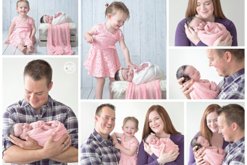 Newborn Family Session {Kelowna Studio}