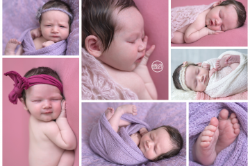 Beautiful Baby Girl in SBP Kelowna Studio