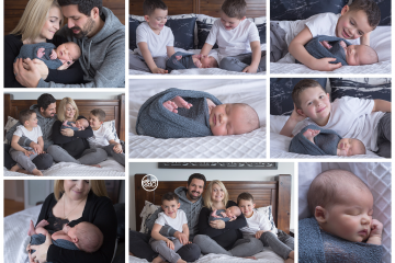 Beautiful In-Home Newborn Family Session {West Kelowna}
