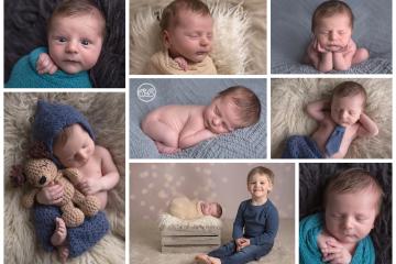 Beautiful Baby Boy in Kelowna SBP Studio