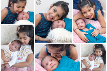 Sister Snuggles {Baby In Home Session}