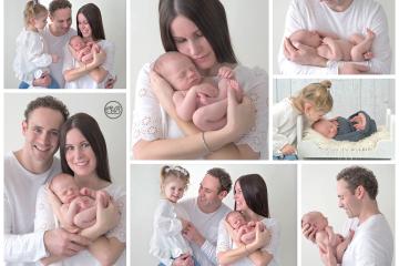 Beautiful Family Celebrates Baby Boy {Kelowna Studio Session}