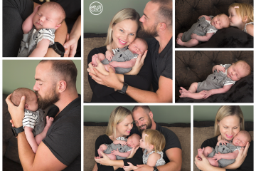 Beautiful Kelowna Family Welcomes Baby Boy {In Home Session}