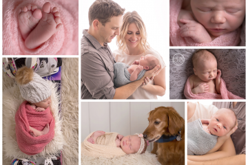 Beautiful Baby Girl and Family Session