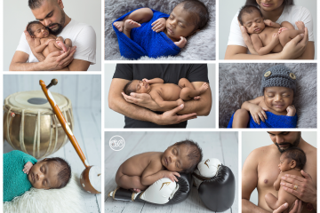 Beautiful Baby Boy {Traditional Drums & Boxing Gloves}
