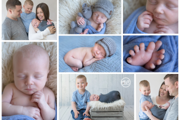 New Baby Boy Showered with Love {Family Photos Always}