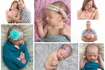 Beautiful Baby Girl in Kelowna SBP Studio