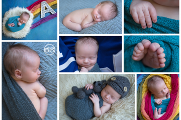 Beatiful Newborn Boy {Rainbow Baby}