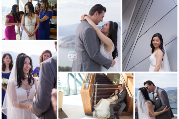 Beautiful Wedding in Sparkling Hill Penthouse ~ Okanagan Valley