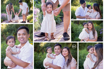 Beautiful Family Celebrates Baby Girl's First Birthday {Milestone Session}