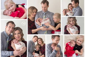 You are so loved! {Beautiful baby family session in SBP Studio}