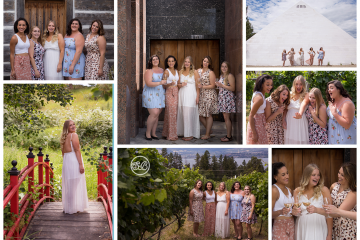 Girls Weekend Summerhill Winery Photoshoot