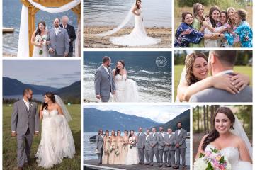 Beautiful Salmon Arm Canada Lake Wedding September 2018